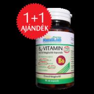 NutriLAB B6-vitamin vega kapszula  90X + 1 ajándék