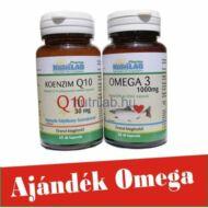 NutriLAB Koenzim Q10 60X + Ajándék Omega 3 30X