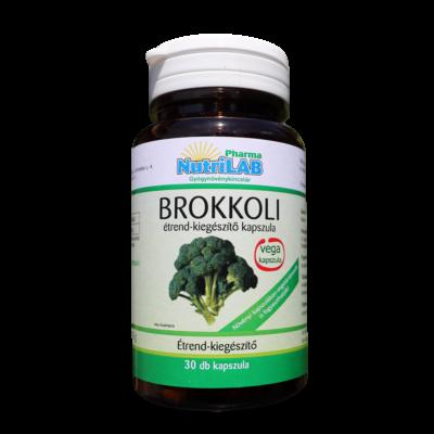 NutriLAB Brokkoli vega kapszula 30X