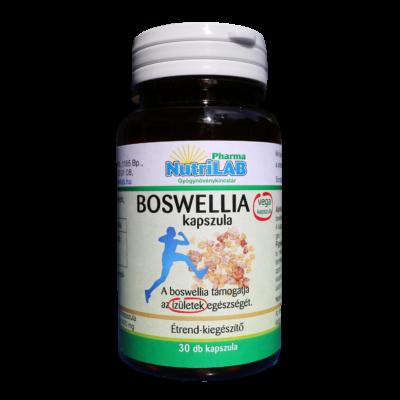 NutriLAB Boswellia vega kapszula 30X