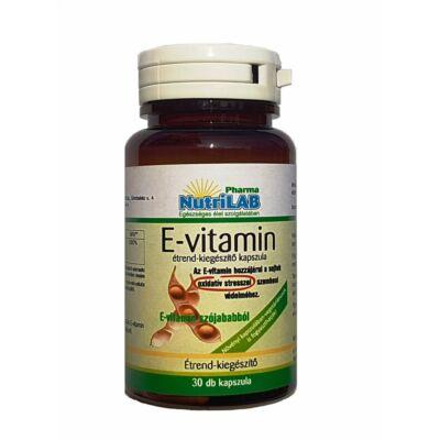 NutriLAB Természetes E-vitamin Vega kapszula 30X
