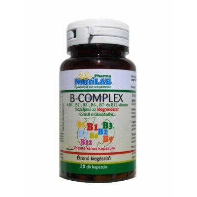 NutriLAB B-Complex kapszula vega 30X