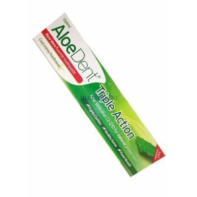 Optima AloeDent Triple Action fogkrém (Q10) 100 ml