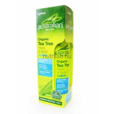 Optima Ausztrál  Teafa kéz és testápoló 250 ml