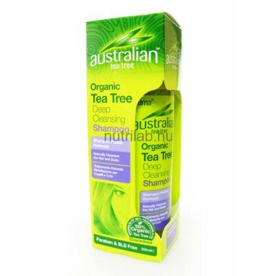 Optima Ausztrál  Teafa mélytisztító sampon 250 ml