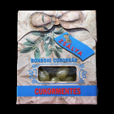 Bonboni Zsálya cukormentes cukorka 75g